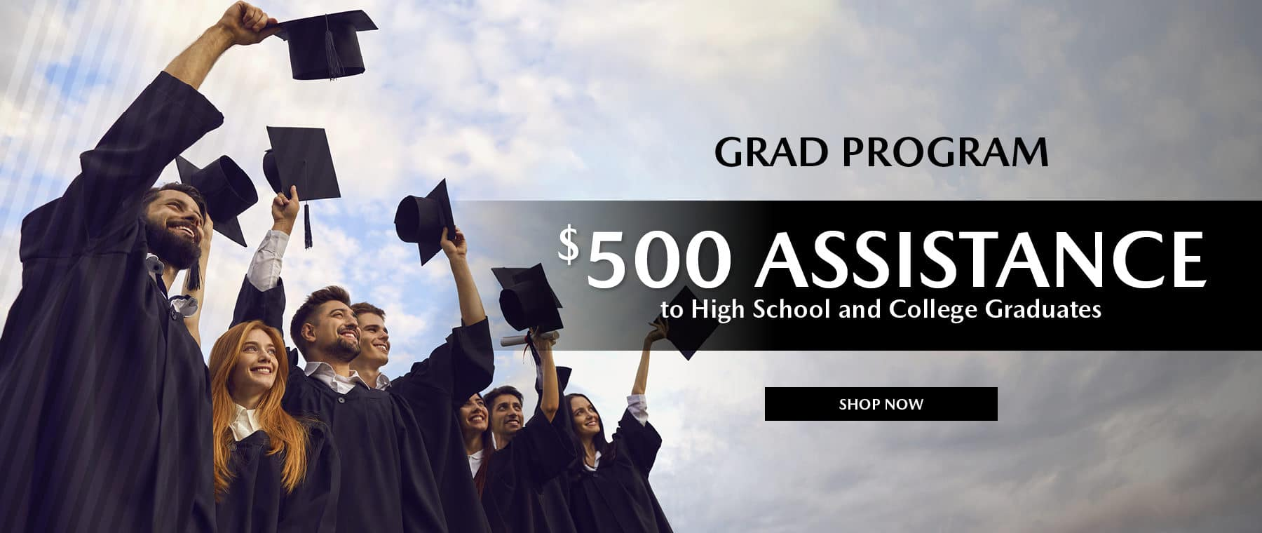 $500 Grad Assistance