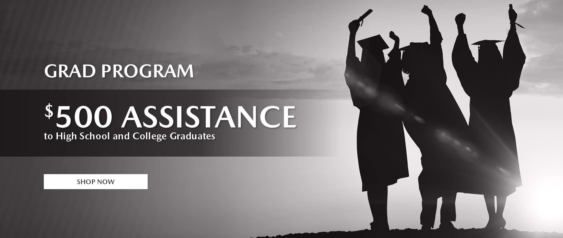 brickell mazda graduate banner