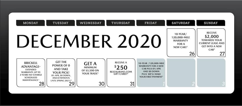 Mazda Calendar