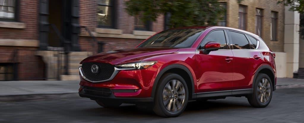 red 2021 Mazda CX5