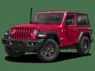 2019 JEEP wrangler red