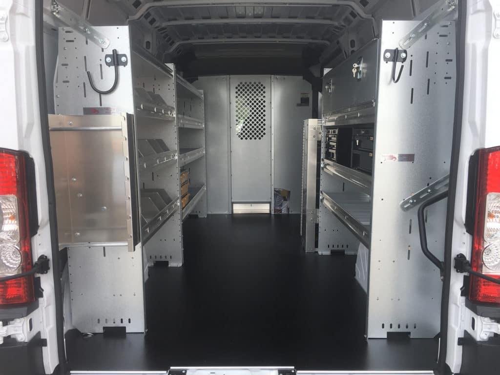 Ram ProMaster Interior