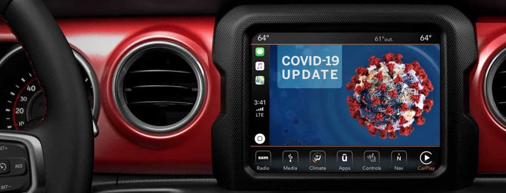 COVID-19 Jeep