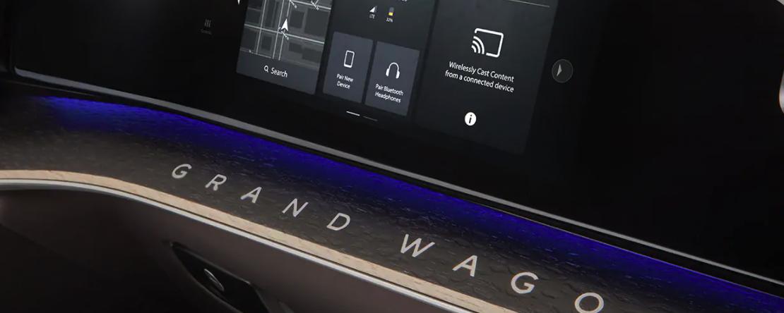Jeep Grand Wagoneer Technology