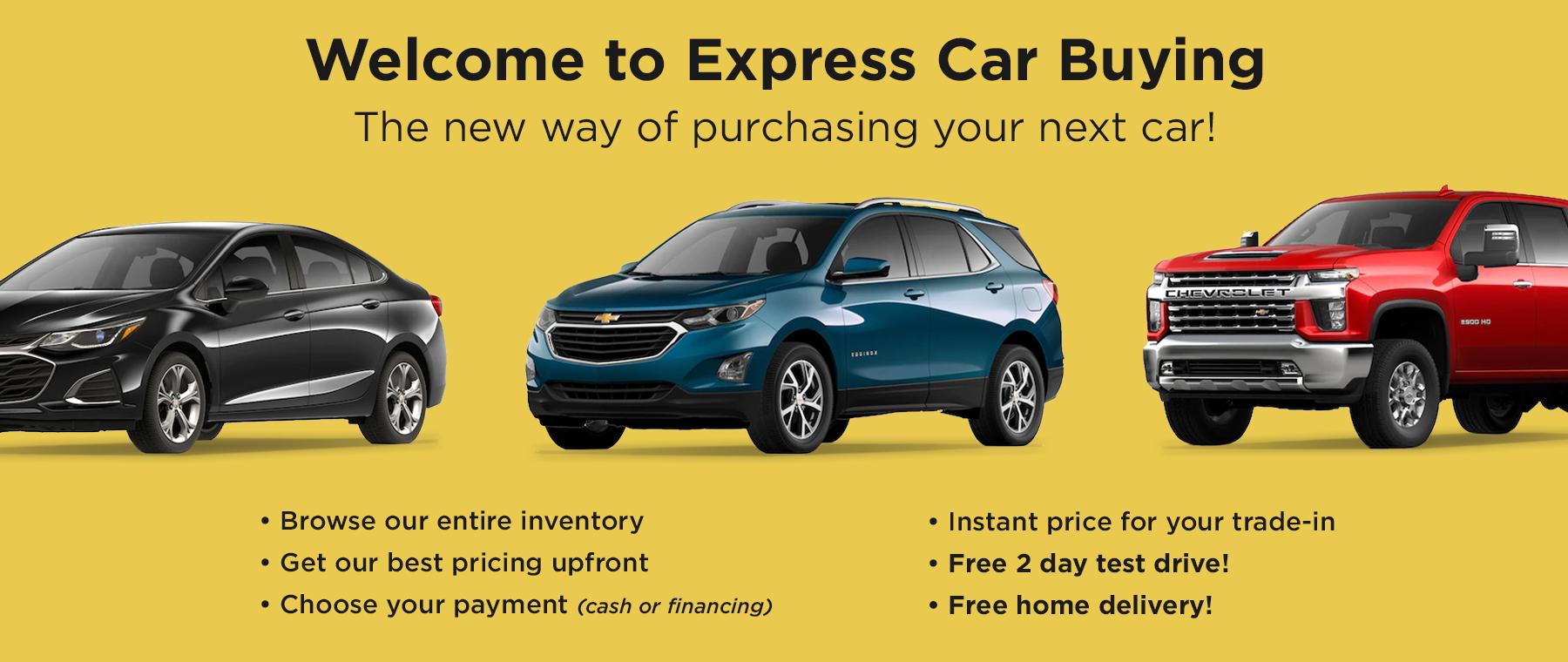 Cargill Chevrolet homepage banner