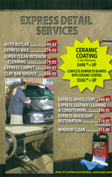 Express Detail Services ad