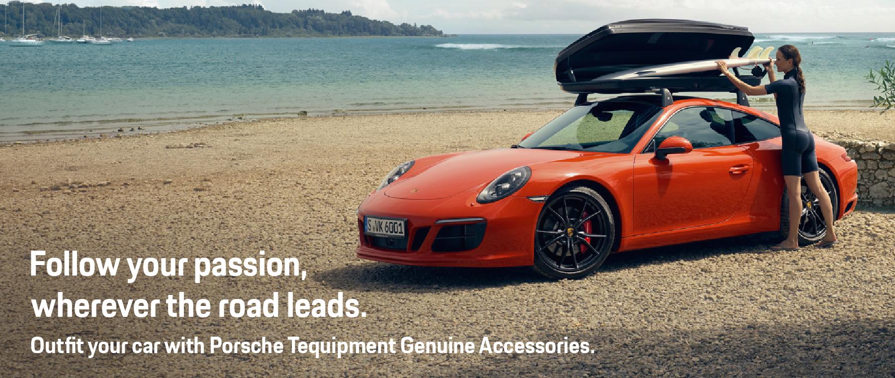 o-Porsche Tequipment Genuine Accessories