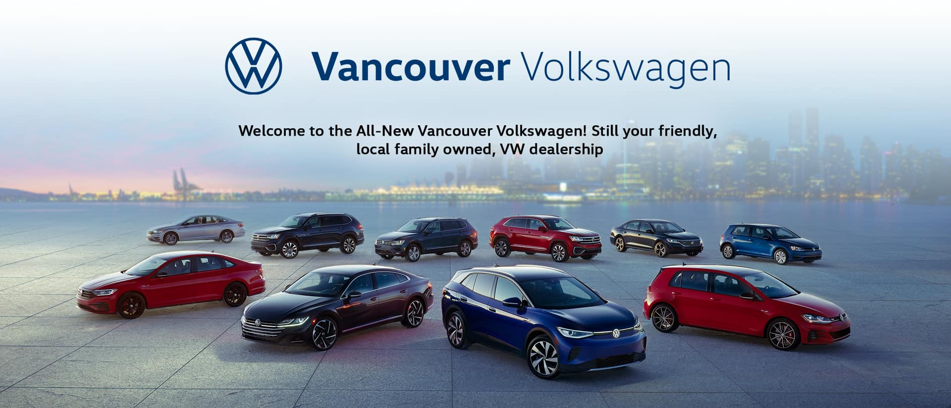 New VW vancouver WB Banner