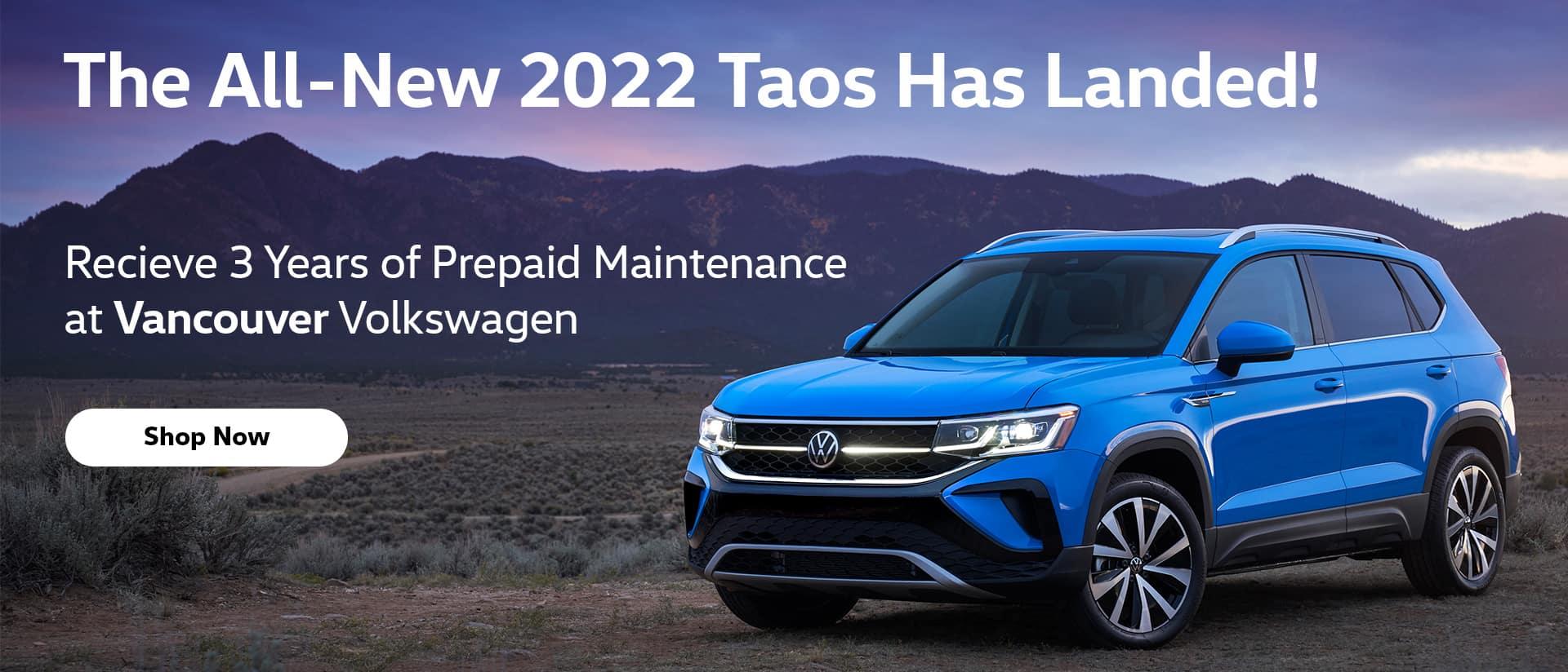 The All-New 2022 Taos_Desktop_Banner