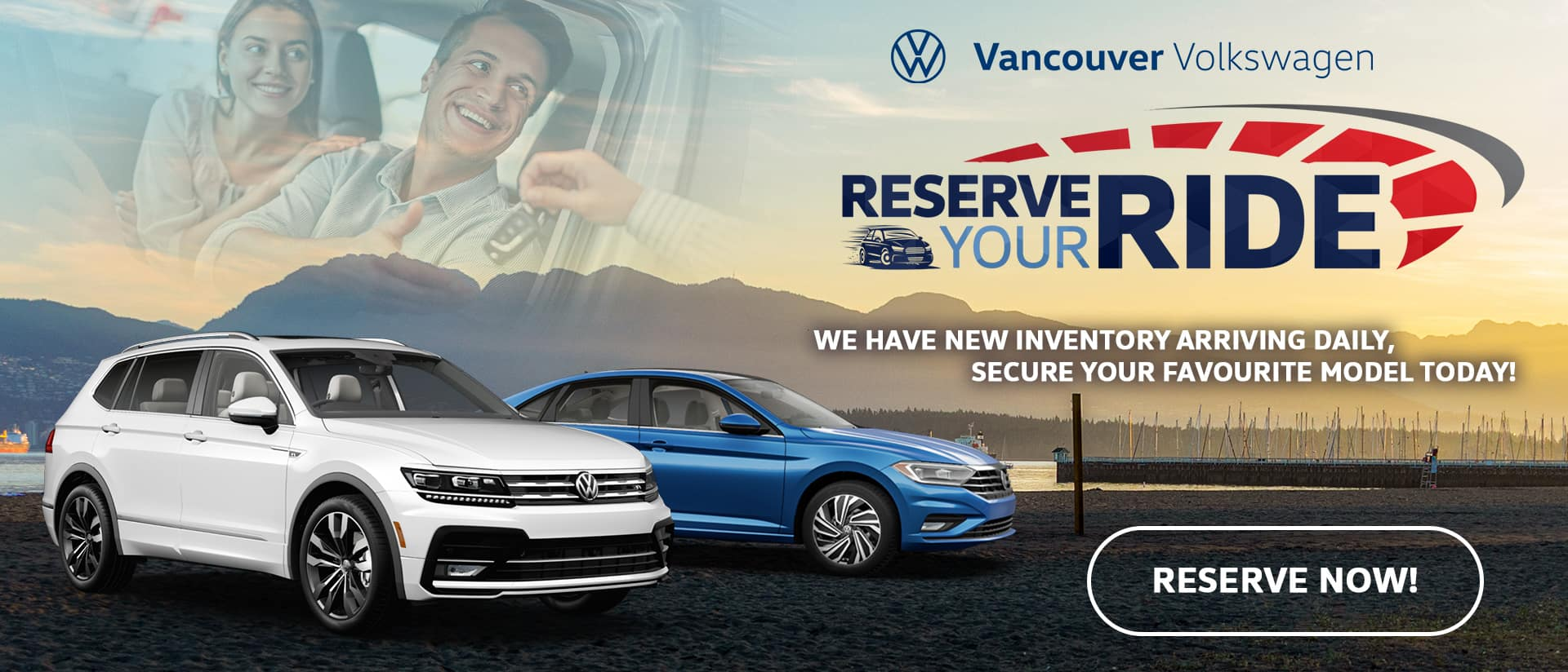 Reserve your ride Vancouver Volkswagen