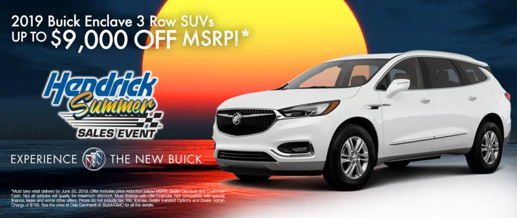 2019 Buick Enclave 3 Row SUVs