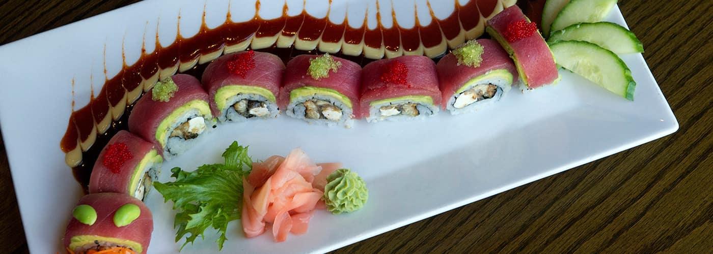 Azu Lucy Ho's sushi restaurant