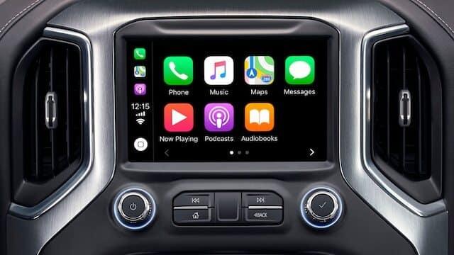 GMC Apple CarPlay Interface