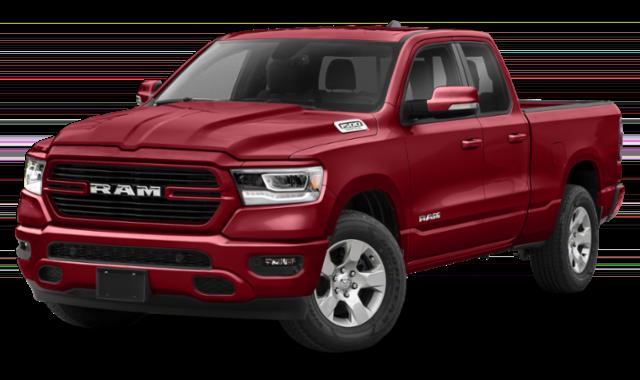 2020 ram 1500 red exterior