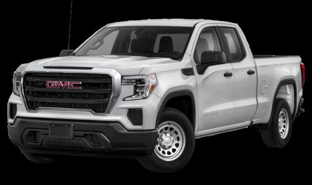 2020 gmc sierra 1500 white exterior