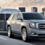2020 gmc yukon silver exterior trailer