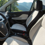 2020 buick encore cream interior