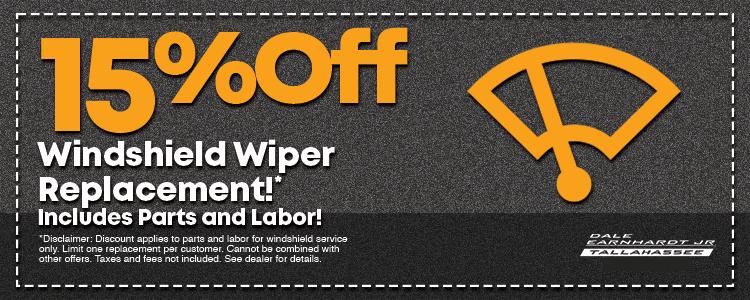 15% Off Wiper Special