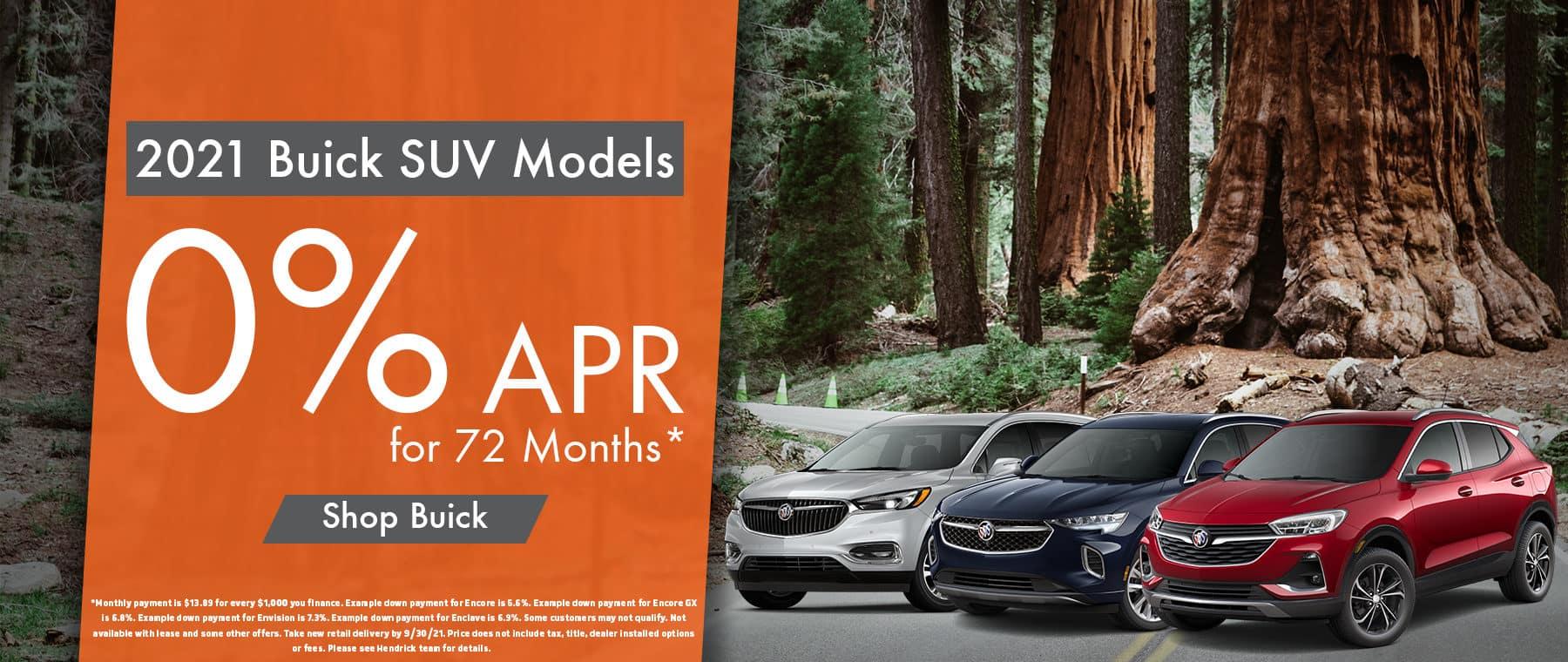 2021 buick models
