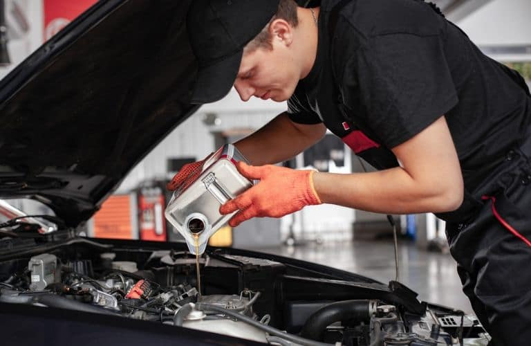Kia car oil change service in Council Bluffs