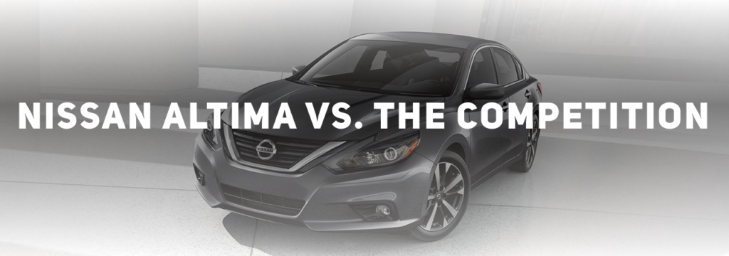 2018 Nissan Altima vs the competition at Edwards Nissan in Council Bluffs