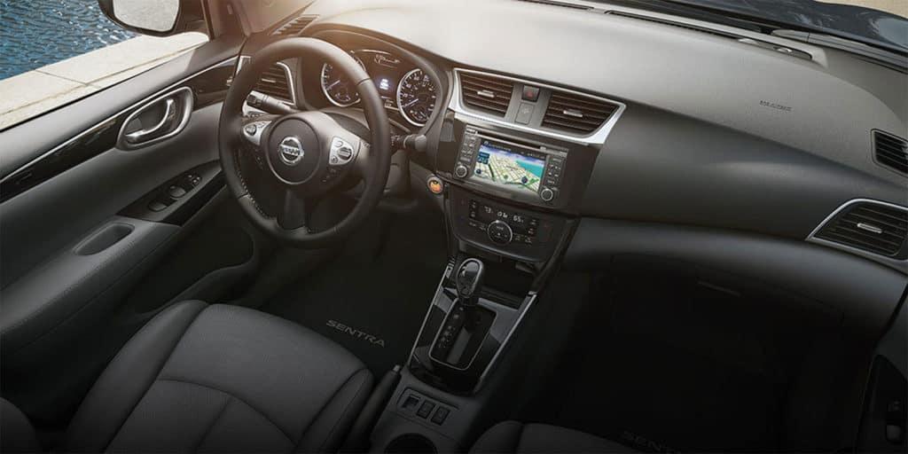 2018 Nissan Sentra interior design