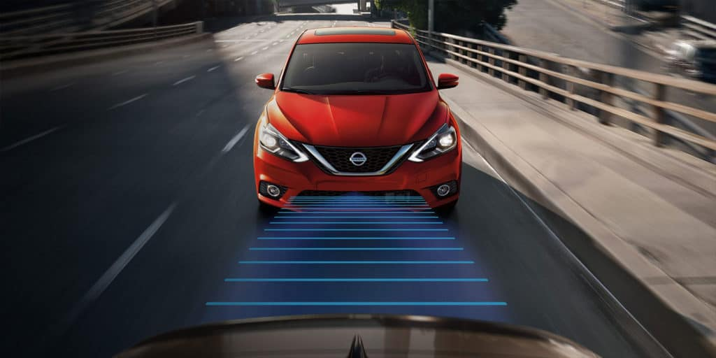 2018 Nissan Sentra intelligent driving
