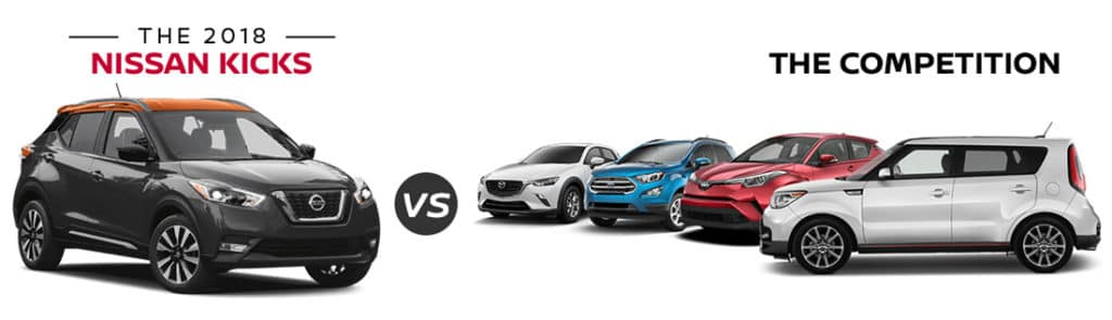 2018 Nissan Kicks vs the competition at Council Bluffs Nissan dealership near Omaha