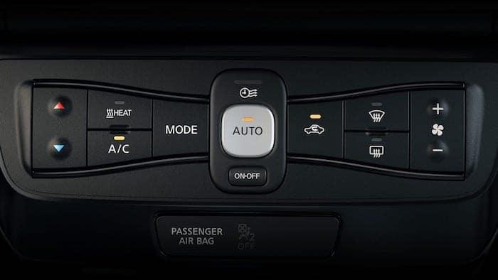 2019 Nissan Leaf Automatic Climate Control