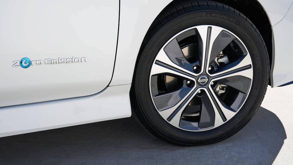 2019 Nissan Leaf electric vehicle - zero emissions