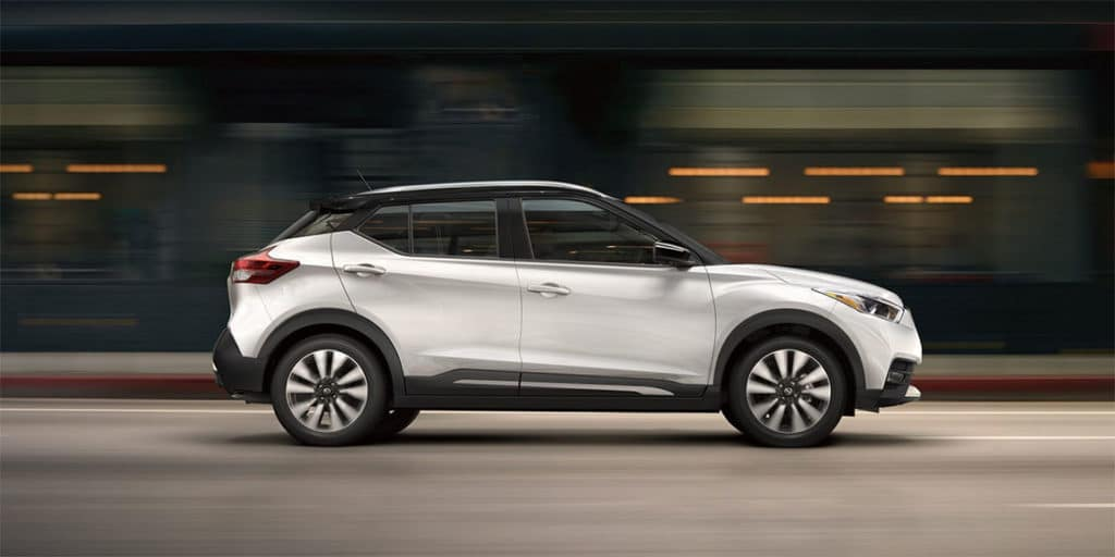 2018 Nissan Kicks SUV best-in-class mpg fuel economy