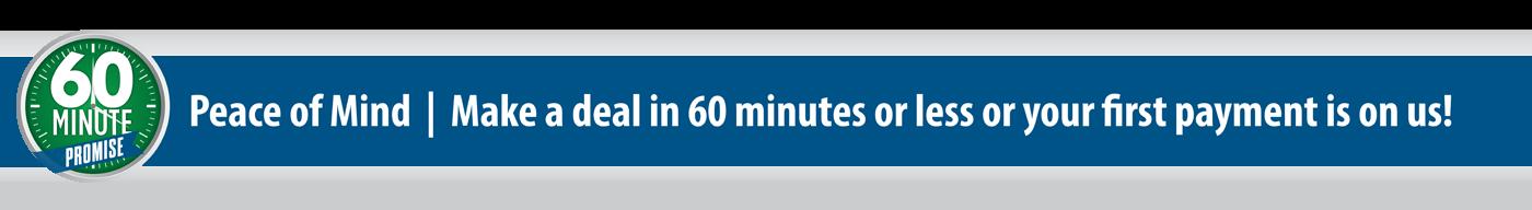 60 Minute Promise at Council Bluffs Kia dealership - Edwards Kia