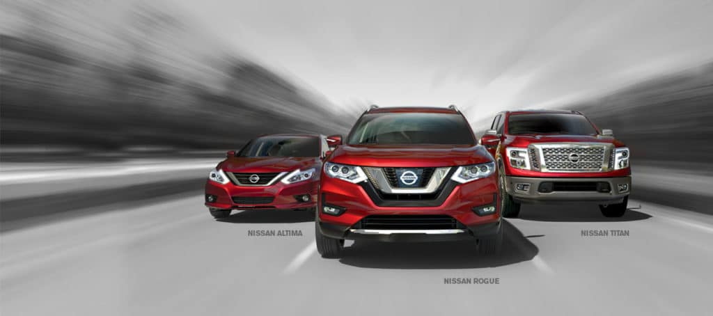 Nissan cars for sale at Council Bluffs Nissan dealership near Bellevue