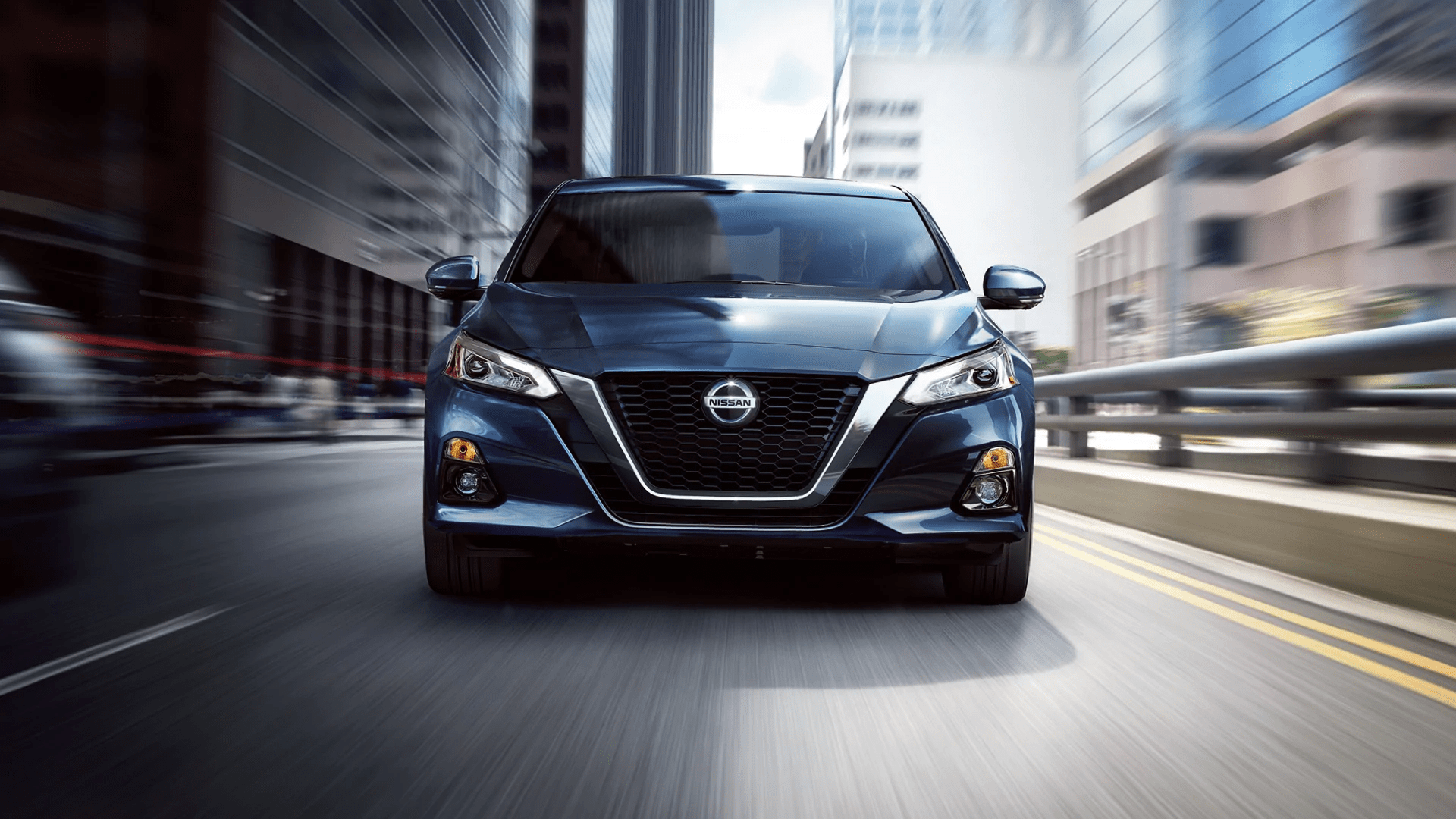 2020 Nissan Altima front grille profile