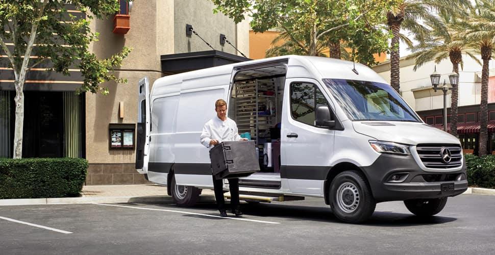2020 Mercedes-Benz Sprinter Cargo Exterior