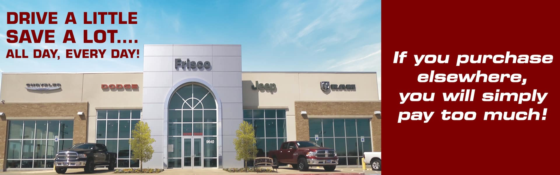 Frisco Chrysler Dodge Jeep Ram | CDJR Dealer Serving Plano, TX