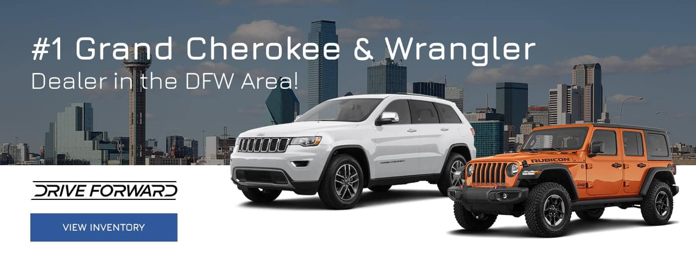 #1 Grand Cherokee & Wrangler Dealer in the DFW Area