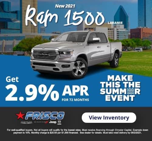 1500 Ram Laramie July Special