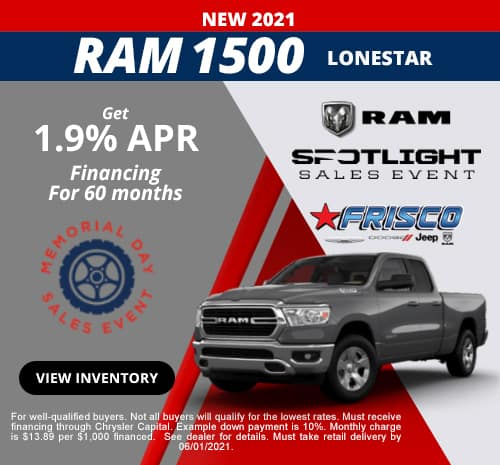 Ram 1500 May Special