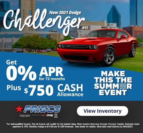 Challenger July Special
