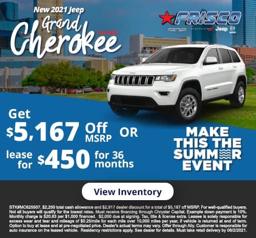 Grand Cherokee July Specials