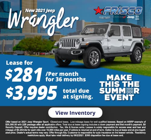 Wrangler July Special
