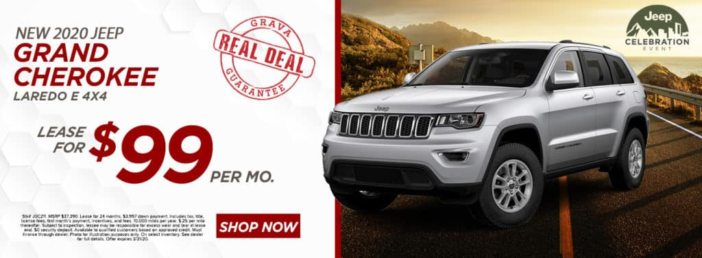 NEW 2020 JEEP GRAND CHEROKEE LAREDO E 4X4
