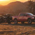 RAM 1500 Towing Trailer
