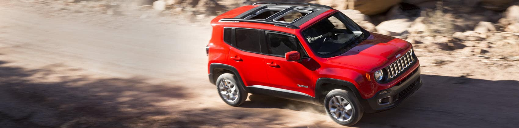 Jeep Renegade Off-Roading