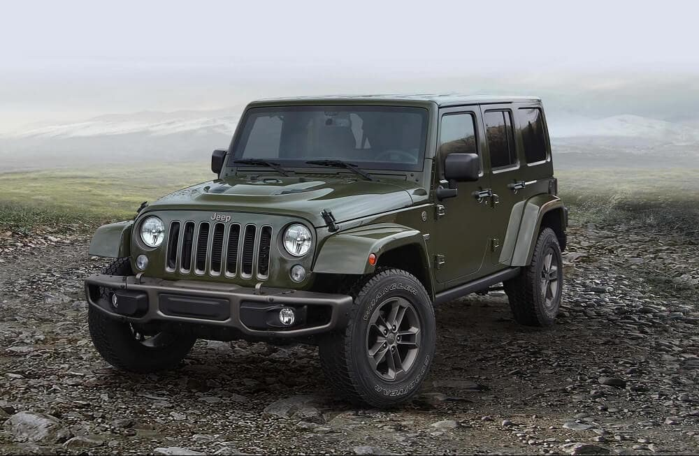Jeep Wrangler Model