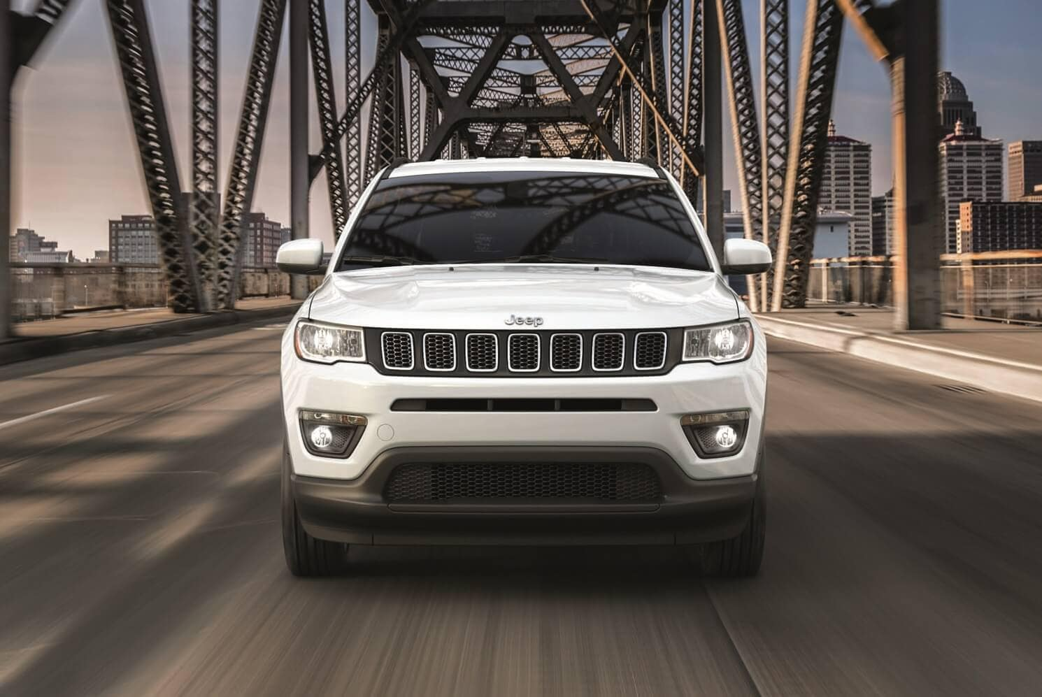 Jeep Compass Driving