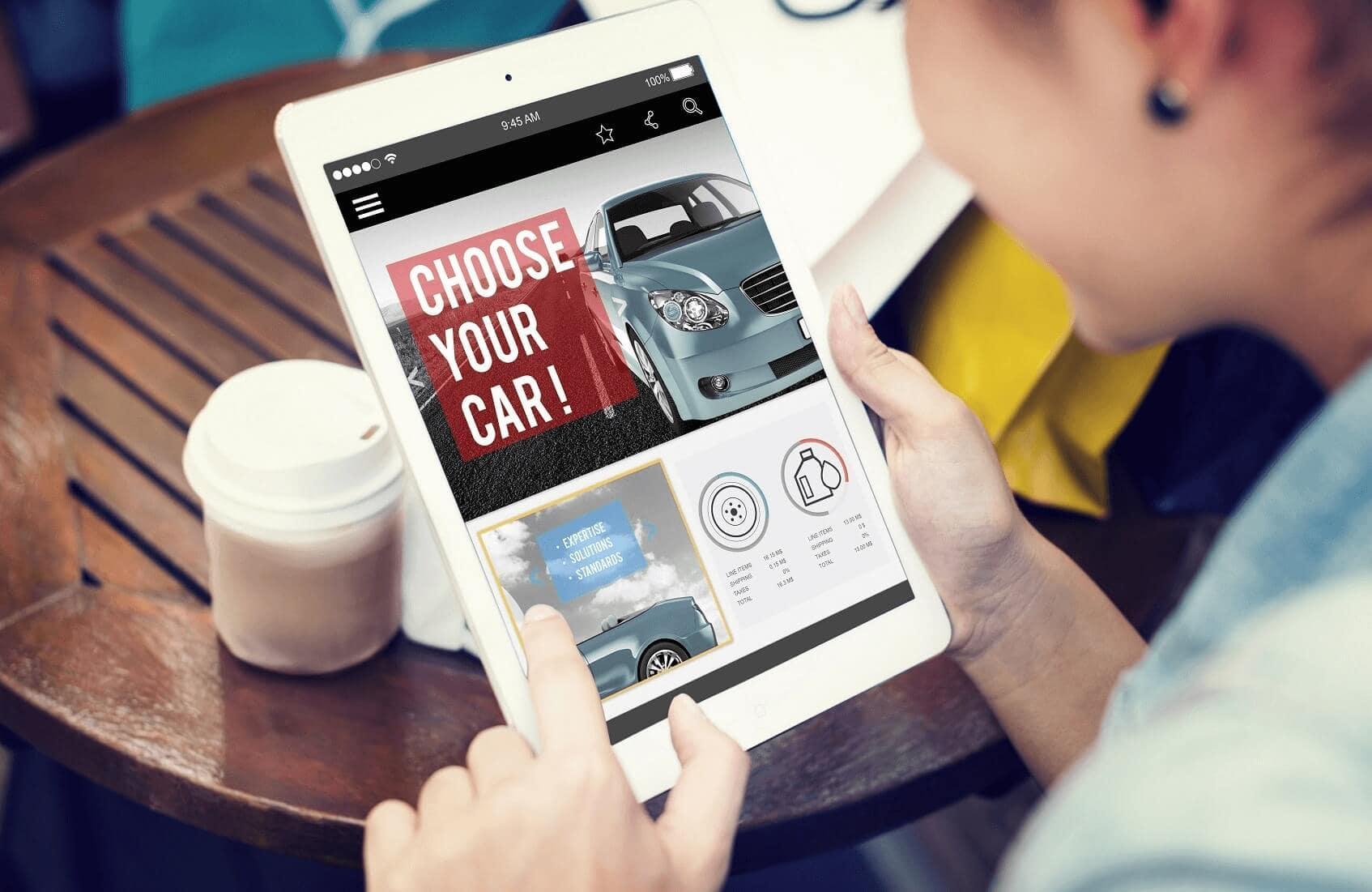 Choosing a Car Online