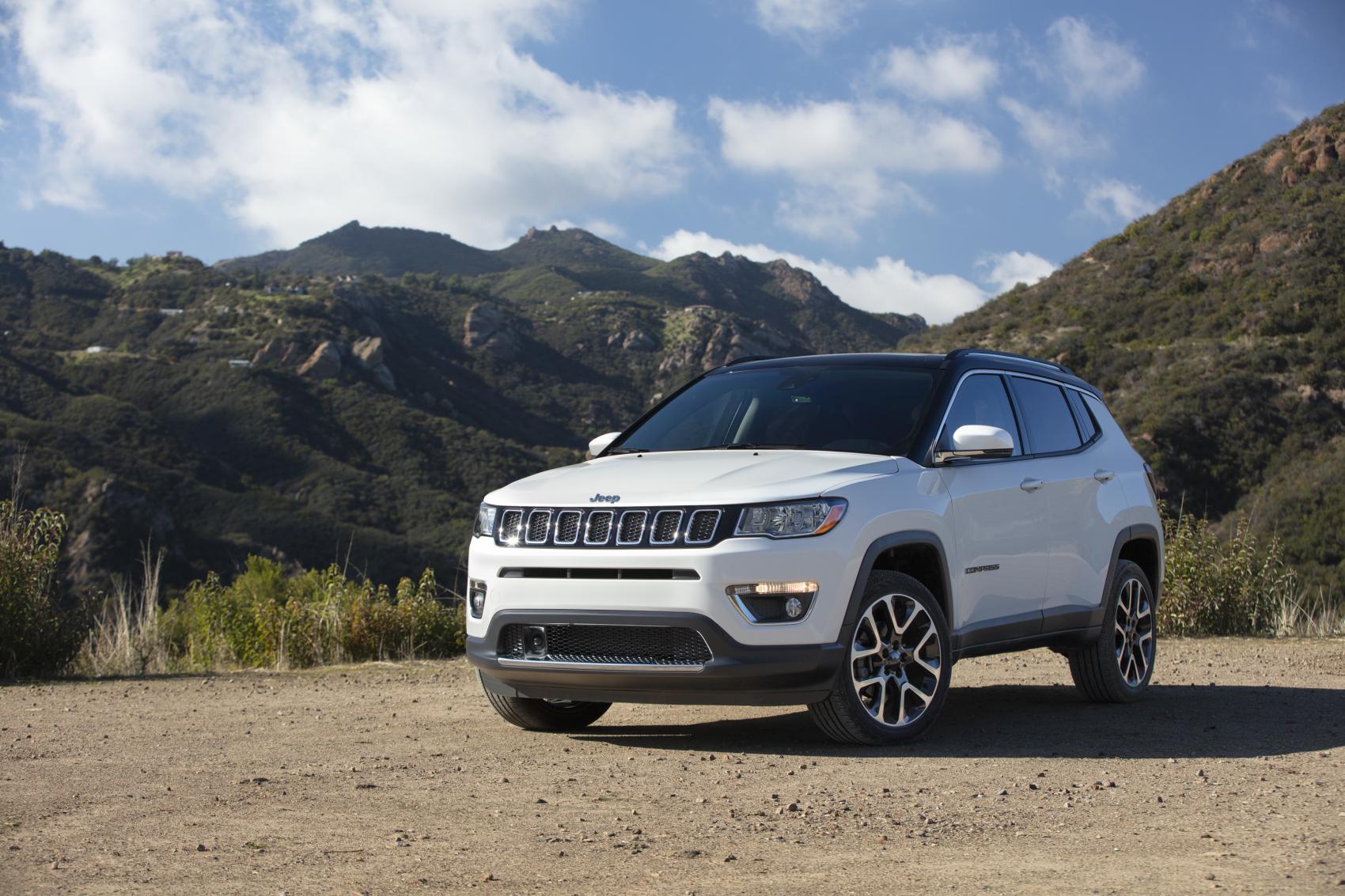 2021 Jeep Compass White Mountains Grava CDJR