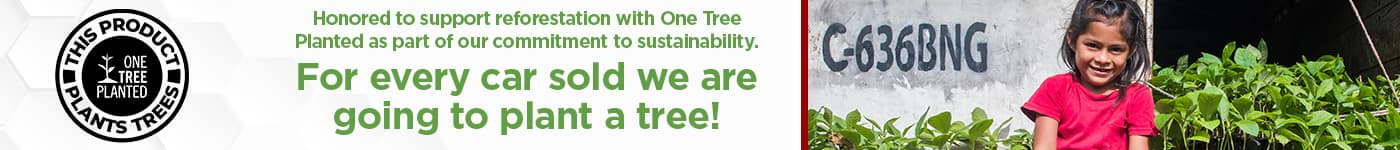 1 Car Sold, 1 Tree Planted | Grava CDJR